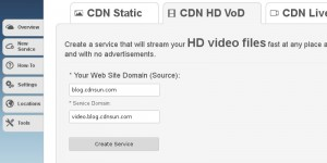 Video on Demand CDN service