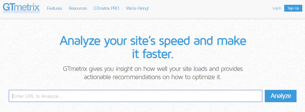 Website speed test tools 2