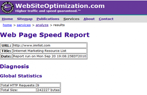 Website speed test tools 4