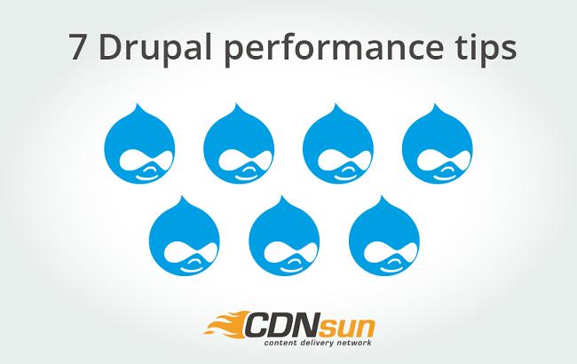 7 Drupal performance tips