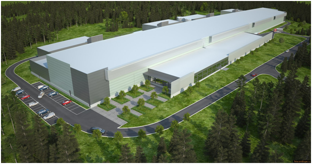 Facebook Data Center, Lulea, Lapland
